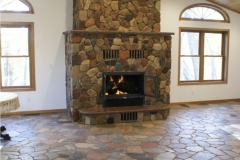 realstone pic flooring and fireplace